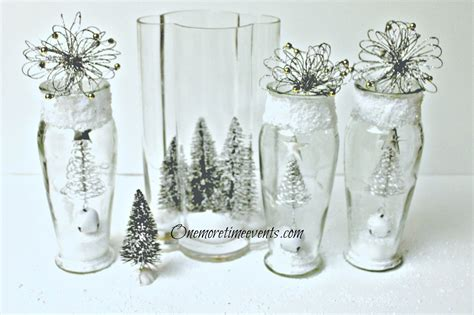 hometalk decorating in vases to create a christmas glass