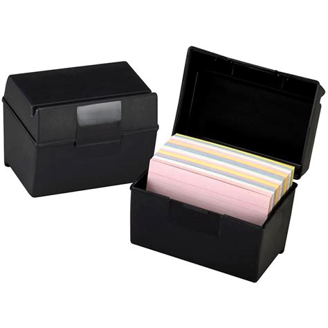 Acrylic Card Holder 4x6 Template by Oxford Plastic Index Card Box 4x6 Ess01461 Tops