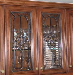 Leaded Glass For Kitchen Cabinets Clear Stained Glass Cabinet Doors Benefits Of Leaded Stained Glass Kitchen Cabinet Doors