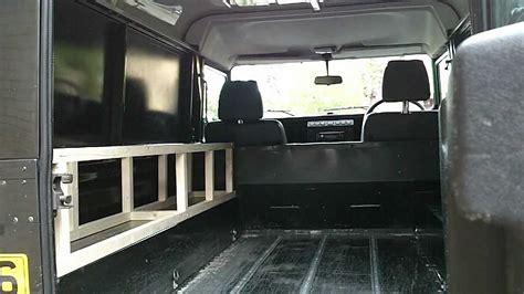 landrover conversion fit   campervan youtube