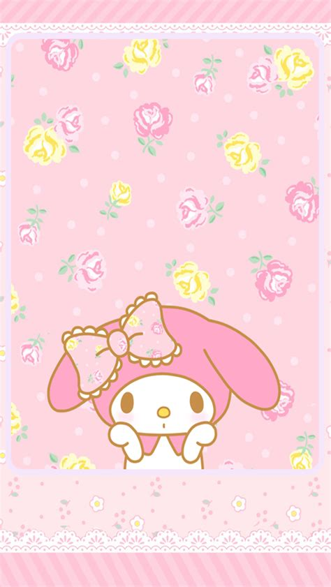 My Mlody Untuk Iphone Samsung my melody wallpaper for iphone wallpapersafari