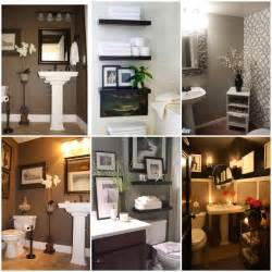 Half Bathroom Decor Ideas by Bathroom Storage Ideas Home Ideas Pinterest