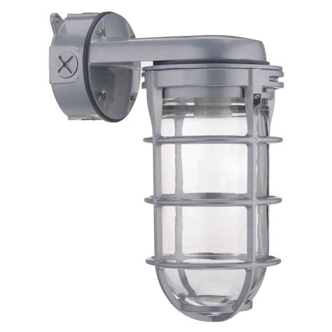 Sodium Vapor Light Fixture Lithonia Lighting Outdoor Gray High Pressure Sodium Wall Mount Utility Vapor Tight Security