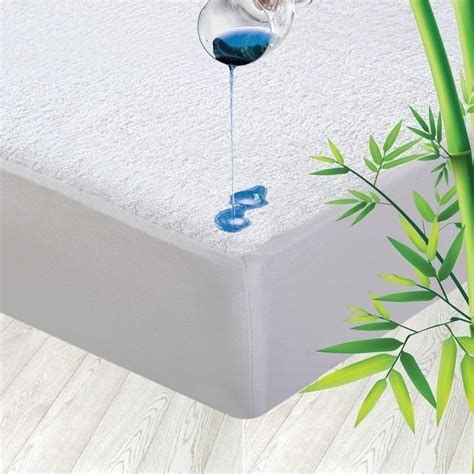 bamboo waterproof mattress protector fully fitted