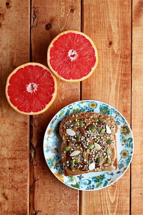 mobile hd wallpapers table grapefruit bread tasty