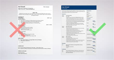 Sales Manager Resume by Sales Manager Resume Sle Complete Guide 20 Exles