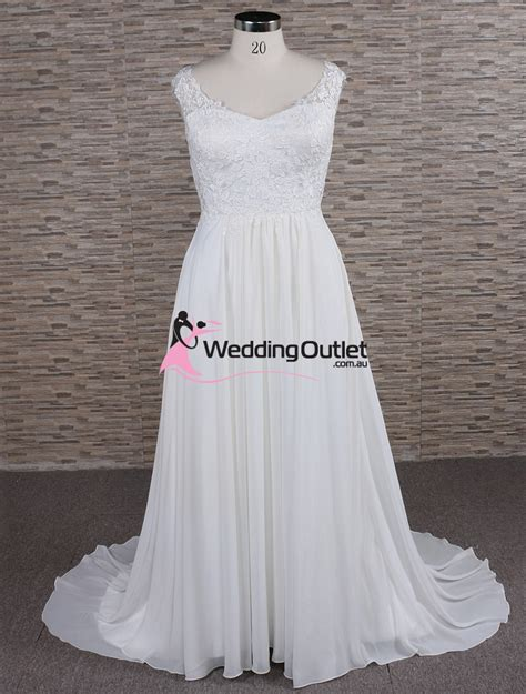 wedding dresses au simple lace bridal gown weddingoutlet au