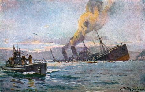 u boat submarine warfare january 31 1917 germany opts to end unrestricted