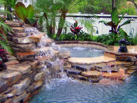 pool fountains and waterfalls pools with waterfalls waterfalls