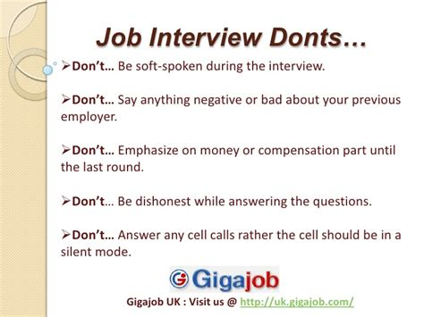interview tips dos and donts for college students portal info