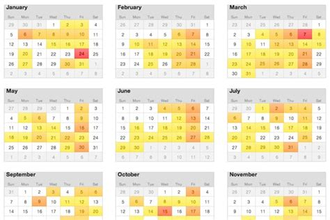 Oxford Mba Program Calendar by High School Timetable In Usa Mt Pleasant High School