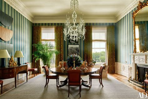 white house dining room the obama family s stylish world inside the white