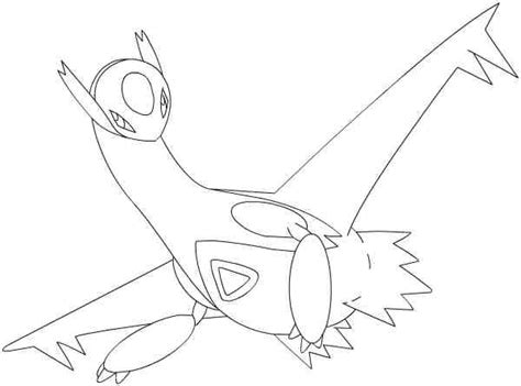 pokemon coloring pages latios free coloring pages