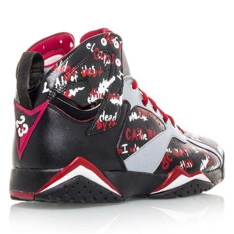 eminem shoes buy air jordan 7 retro custom eminem 1 of 1 mens