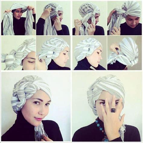tutorial hijab turban ikat  woman   en