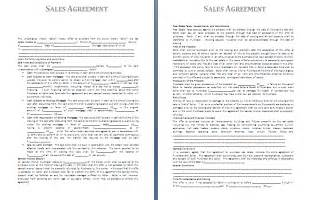 sales agreement template sales agreement template free agreement templates