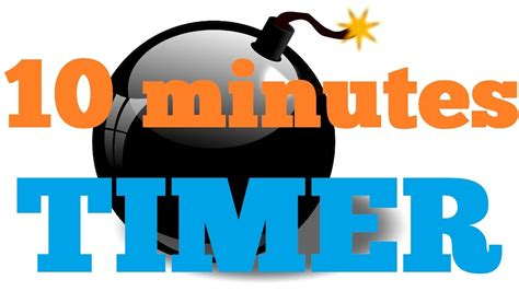 10 Min Countdown Timer 10 Minute Countdown Timer Clip Cliparts