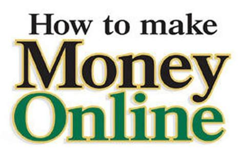How To Make Make Money Online - how to make money online 12 ideas to get you started