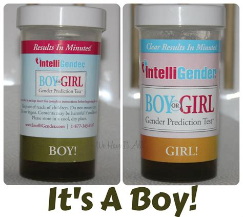 gender prediction test guess what it s a boy intelligender results are in
