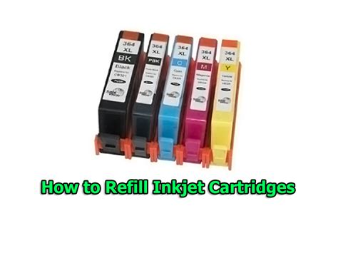 Ink Refill Printer how to refill inkjet cartridges