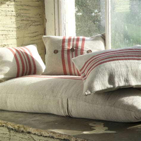 bench cushion covers style stripe bench cushion cover by with