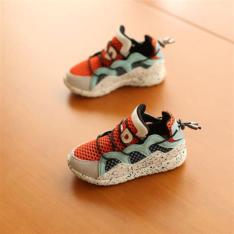 Second Shoes Are Strangely Stylsih by Net Sport Shoes Fashion Children Strange Shoes Rubber