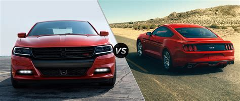 mustang gt vs charger rt dodge charger vs ford mustang 2010