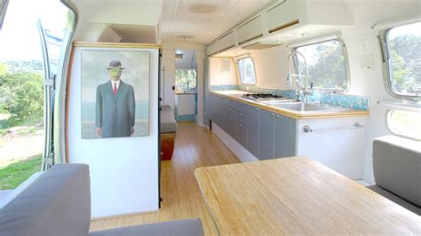renovated rv 7 retro chic airstream renovations inhabitat green