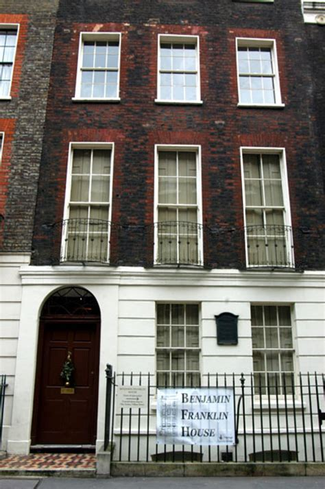 benjamin franklin house london a little off base benjamin franklin house peers into statesman s life in london