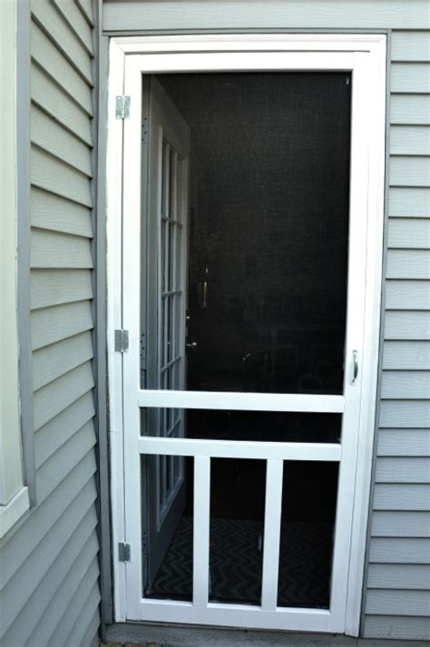 Screen Door Installation by How To Install A Screen Door Teeny Ideas