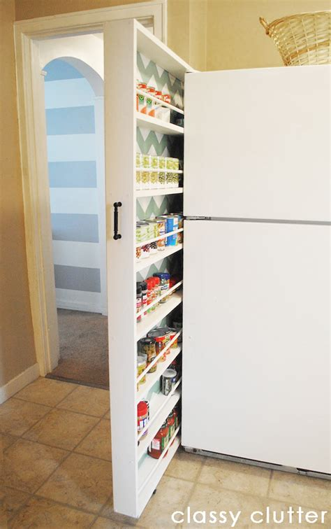 diy hidden storage hometalk diy hidden storage canned food storage cabinet