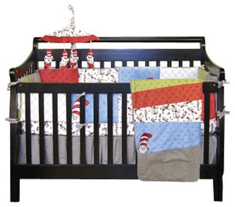 Dr Seuss Baby Crib Bedding Set by Dr Seuss Cat In The Hat Crib Bedding 4 Set