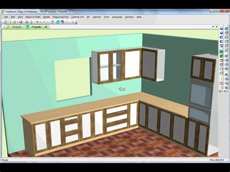 kitchen cupboard design software kitchen design using cabinet software youtube