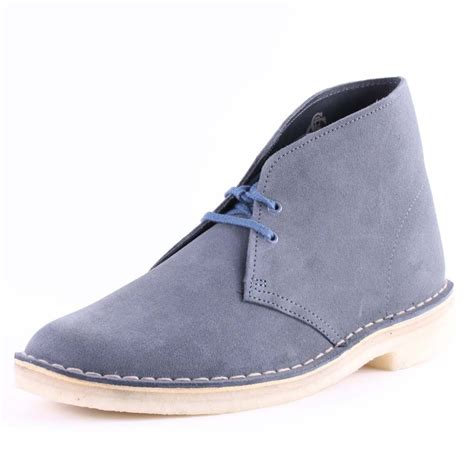 mens blue desert boots clarks desert mens desert boots in denim blue