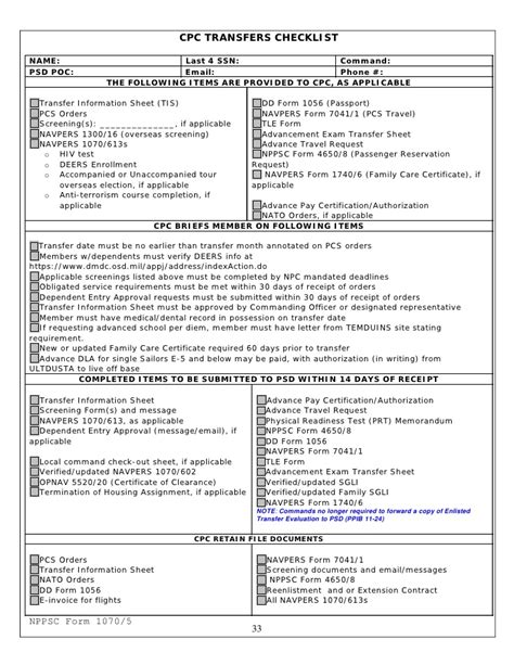 Navy Muster Report Template