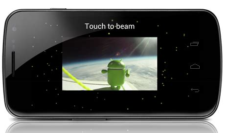 android beaming service how to use android beam on the sandwich
