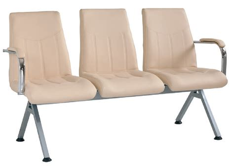 triple k upholstery turkish triple visitor chair with artificial leather