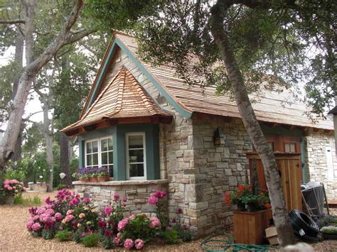 stone cottage home plans one story house plans with garage without wall stone