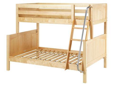 Maxtrix Twin Full Bunk Bed W Angled Ladder Bunk Bed Ladder Safety