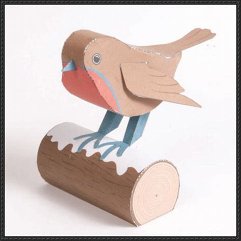 Papercraft Bird Template - papercraftsquare new paper craft