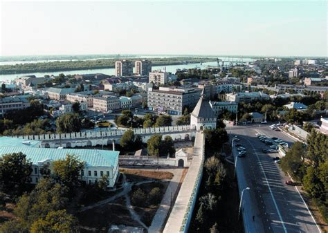 And The City The by The City Of Astrakhan Russia