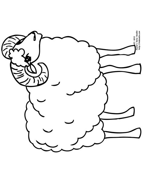 ram coloring page printable ram printable coloring pages