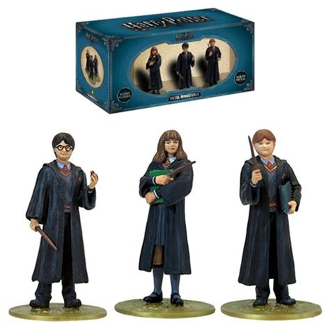 Mini Figure Harry Potter Harry Potter harry potter year 1 metal miniature mini figure box set
