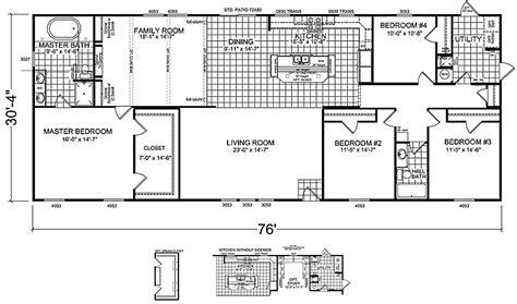 4 bedroom double wide mobile home floor plans double wide mobile home floor plans 2 bedroom 1 bath