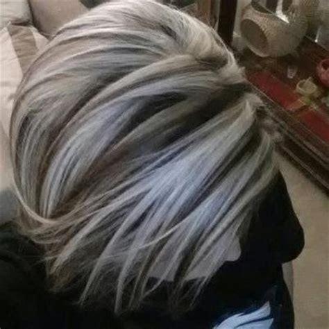 brown hair with platinum highlights brown hair picmia