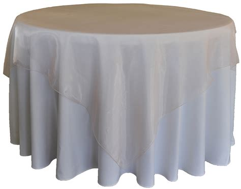 blush pink organza table overlays wholesale