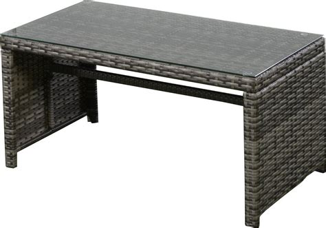 Ghp 4pc Gray Rattan Wicker Outdoor Patio Furniture Set Gray Wicker Patio Furniture