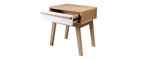 table de nuit scandinave table de chevet design scandinave helia miliboo