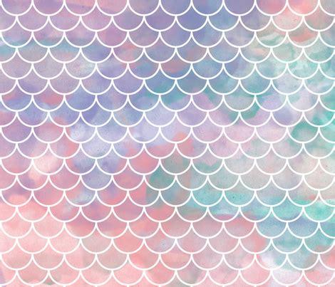 mermaid scales background watercolor mermaid scales fabric xtinew spoonflower