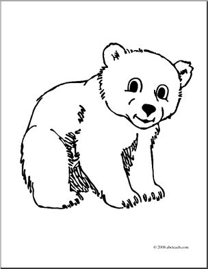 coloring page bear cub bear cub cliparts free download clip art free clip art